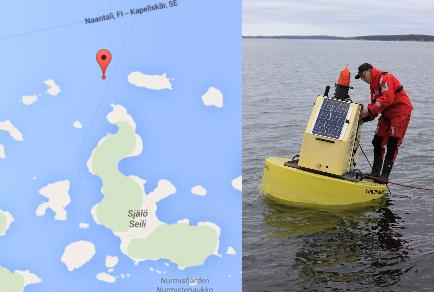 Seilin automaattinen vedenlaadun mittausasema – Saaristomeri.utu.fi